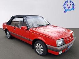 VAUXHALL CAVALIER GL (red) 1987