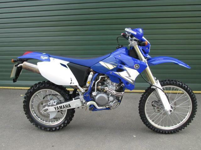 yamaha wr 250 f wrf 2006 enduro green lane electric start