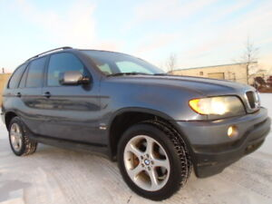 2002 BMW X5 3.0i SPORT-AWD-LEATHER-SUNROOF-EXCELLENT SHAPE