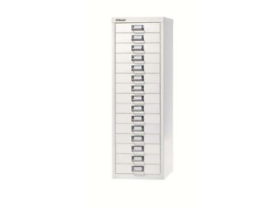 BISLEY - 15 MULTI DRAWER FILING CABINET - BRAND  NEW - CHALK WHITE