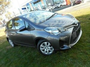 2014 Toyota Yaris NCP130R MY15 Ascent Grey 4 Speed Automatic Hatchback Belconnen Belconnen Area Preview