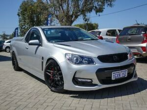 2016 Holden Ute VF II MY16 SS V Ute Redline Silver 6 Speed Sports Automatic Utility Morley Bayswater Area Preview
