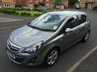 Vauxhall Corsa Sxi 2013 38000 miles A/C Service History and Mot