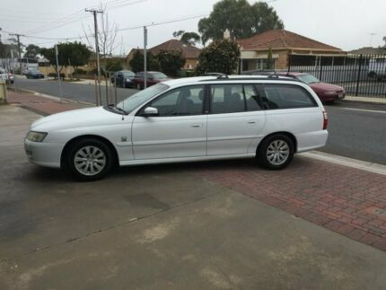 2004 Holden Commodore VZ Acclaim Heron White 4 Speed Automatic Wagon Somerton Park Holdfast Bay Preview