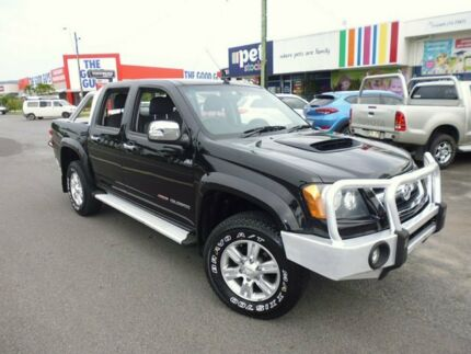 2011 Holden Colorado RC MY11 LT-R Crew Cab Black 5 Speed Manual Utility Cairns Cairns City Preview