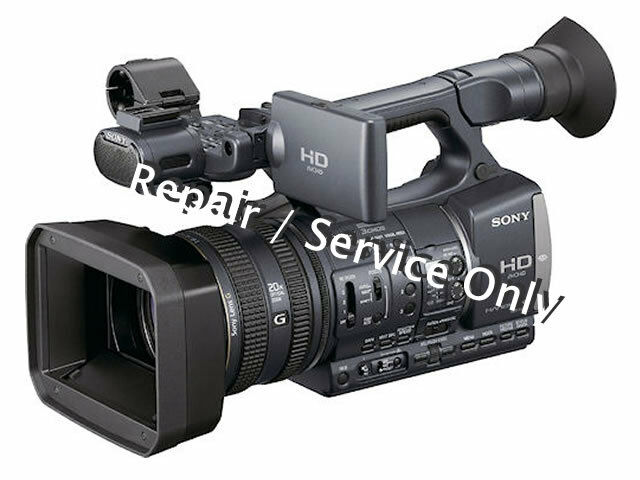 REPAIR / SERVICE for SONY HDR-AX2000 Professional Camera (*READ 1st*)
