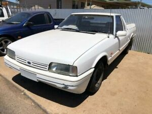 1991 Ford Falcon XF GL White 5 Speed Manual Utility Coonamble Coonamble Area Preview