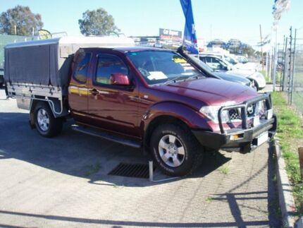 2009 Nissan Navara D40 ST-X Amber Red Auto Active Select Extracab Kenwick Gosnells Area Preview
