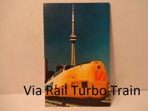 Via Rail Turbo Train Postcard