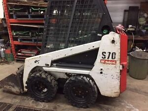 2011 BOBCAT S70 SKID STEER LOADER-CAB WITH HEAT
