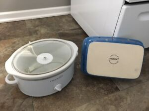 Crock Pot & Baking Pan