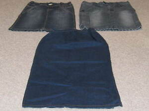 MATERNITY DENIM SKIRTS