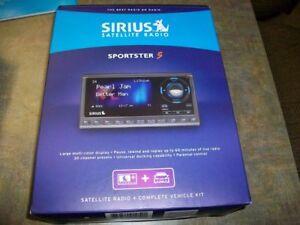 Satellite radio:  SIRIUS  SPORTSTER 5, brand new,  in box