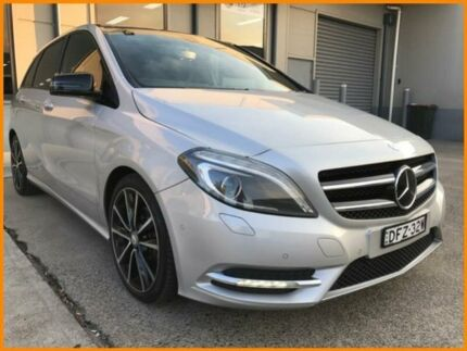 2012 Mercedes-Benz B200 246 CDI BE Silver 7 Speed Auto Direct Shift Hatchback