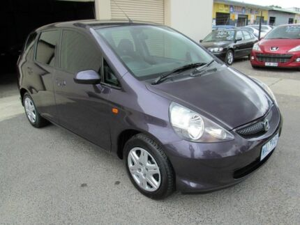 2007 Honda Jazz MY06 GLi Purple Continuous Variable Hatchback Werribee Wyndham Area Preview
