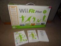 Nintendo Wii Fit game and balance board