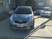 2008 Toyota Yaris NCP90R YR Silver 5 Speed Manual Hatchback Clontarf Redcliffe Area Preview
