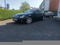 BLACK MERCEDES 2004 AUTOMATIC C180K COUPE PANORAMIC SUNROOF