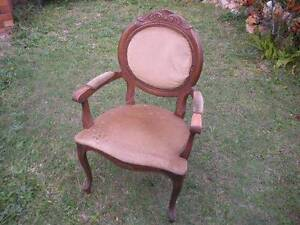 Sturdy antique chair $65 Albion Brisbane North East Preview