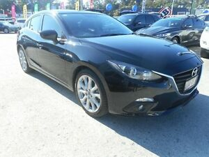 2014 Mazda 3 BM5438 SP25 SKYACTIV-Drive Black 6 Speed Sports Automatic Hatchback Buderim Maroochydore Area Preview