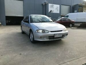 1998 Mitsubishi Lancer CE GLi Silver 5 Speed Manual Coupe Newport Hobsons Bay Area Preview