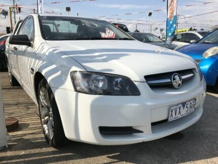 2008 Holden Ute VE Omega White 4 Speed Automatic Utility