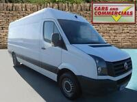 2013 VOLKSWAGEN CRAFTER LWB CR35 High Roof 109ps Blue