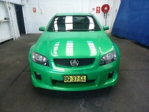 2007 Holden Commodore VE MY08 SS Green 6 Speed Manual Sedan Cardiff Lake Macquarie Area Preview