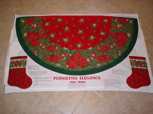 Christmas tree skirts ready for you to sew - various sizes