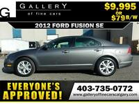 2012 Ford Fusion SE $79 bi-weekly APPLY TODAY DRIVE TODAY