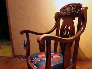 Antique Wooden Rocking Chair London Ontario image 3