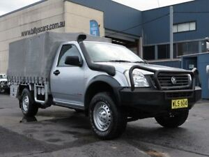 2006 Holden Rodeo RA MY06 Upgrade DX (4x4) Silver 5 Speed Manual Cab Chassis Condell Park Bankstown Area Preview