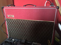 Vox AC30C2 Red limited edition guitar amplifier