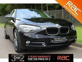 2012 12 BMW 1 SERIES 1.6 116I SPORT 5D 135 BHP