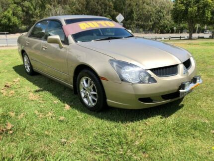 2003 Mitsubishi Magna TL ES Gold 4 Speed Auto Sports Mode Sedan Clontarf Redcliffe Area Preview