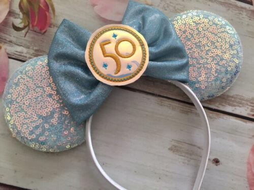 Minnie Mouse ears headband- 50th Anniversary Celebration-Disneyland-Disney World