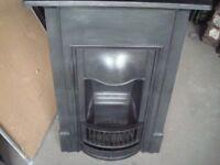 Edwardian original cast iron fireplace