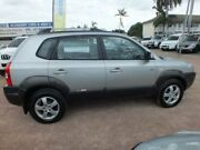 2005 Hyundai Tucson JM Silver 4 Speed Sports Automatic Wagon Rosslea Townsville City Preview