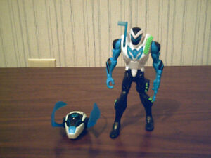 Max Steel with Steel robot - USED