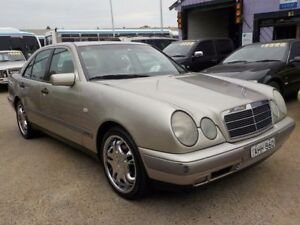 1999 Mercedes-Benz E240 W210 Classic Gold 5 Speed Automatic Sedan North St Marys Penrith Area Preview