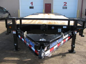 2016 LOAD TRAIL 25' PINTLE DECK OVER