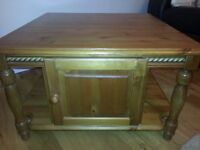 Antique solid Pine Coffee Table.