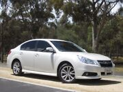 2012 Subaru Liberty B5 MY13 2.5i Lineartronic AWD Premium White 6 Speed Constant Variable Sedan Thorngate Prospect Area Preview