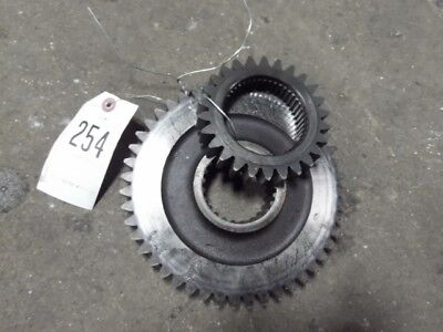 International Harvester 1066 Tractor Constant Mesh Gears Part 528673r1 Tag 254