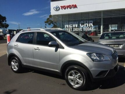 2013 Ssangyong Korando C200 SX Silver 6 Speed Manual Wagon Mornington Mornington Peninsula Preview
