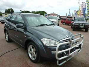 2010 Ssangyong Kyron D100 MY09 M200 XDi Grey Manual Wagon Townsville Townsville City Preview
