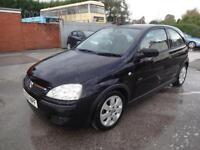 VAUXHALL CORSA 1.2 16v SXi~53/2004~3 DOOR H/BACK~5 SPEED MANUAL~VERY LOW MILEAGE