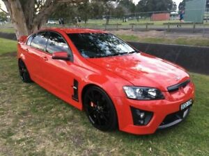 2007 Holden Special Vehicles GTS E Series Red Hot 6 Speed Manual Sedan Mayfield East Newcastle Area Preview