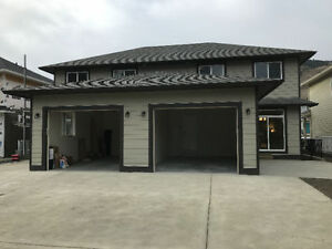 New Duplex with garage Westsyde, Kamloops