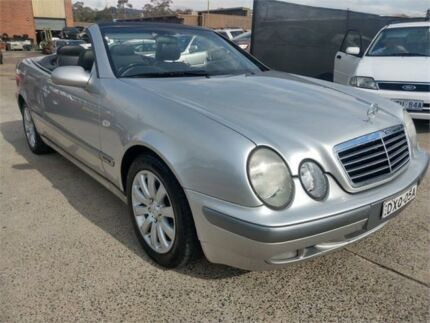 1999 Mercedes-Benz CLK320 Elegance Silver 5 Speed Automatic Cabriolet Mitchell Gungahlin Area Preview